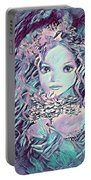 Blue Fairy Princess Portable Battery Charger