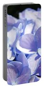 Blue Floral Art Prints Blue Hydrangea Flower Baslee Troutman Portable Battery Charger