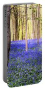 Blue Forest In Shadow Portable Battery Charger