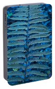 Blue Frond Portable Battery Charger