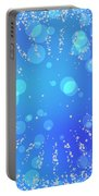 Blue Frozen Window Portable Battery Charger