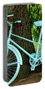 Blue Garden Bicycle Portable Battery Charger