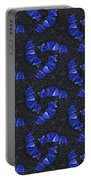 Blue Glass  Portable Battery Charger