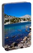 Blue Green Treasure Lake Portable Battery Charger