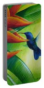 Blue-headed Hummingbird Portable Battery Charger