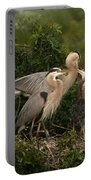 Blue Heron Family Portable Battery Charger