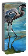Blue Heron I Portable Battery Charger
