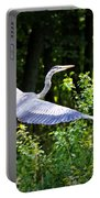 Blue Heron On The Move Portable Battery Charger
