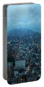 Blue Hour In New York Portable Battery Charger