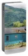 Blue House In Hamilton Portable Battery Charger