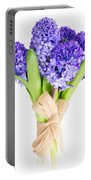 Blue  Hyacinth  Portable Battery Charger