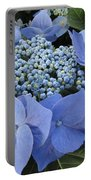 Blue Hydrangea Buds Portable Battery Charger