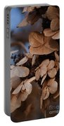 Blue Hydrangea II Portable Battery Charger
