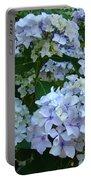 Blue Hydrangeas Art Prints Hydrangea Flowers Giclee Baslee Troutman Portable Battery Charger