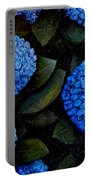 Blue Hydrangeas Portable Battery Charger