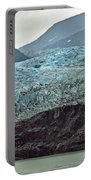 Blue Ice In Fog Portable Battery Charger
