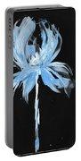 Blue Iris Bulb Portable Battery Charger