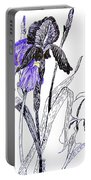 Blue Iris Portable Battery Charger
