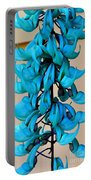 Blue Jade Strand Portable Battery Charger
