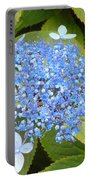 Blue Lacecap Hydrangeas Portable Battery Charger