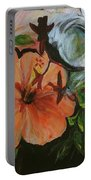Blue Lady Collage Portable Battery Charger