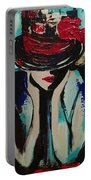 Blue Lady Portable Battery Charger