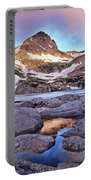 Blue Lake Sunrise Portable Battery Charger