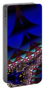Blue Leaf Portable Battery Charger