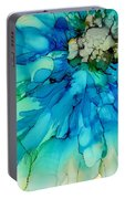 Blue Magnificence Portable Battery Charger