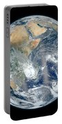 Blue Marble 2012 - Eastern Hemisphere Of Earth Portable Battery Charger
