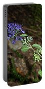 Blue Mist Spirea Portable Battery Charger