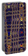 Blue Moon Abstract Portable Battery Charger
