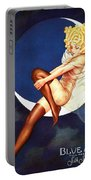 Blue Moon Silk Stockings Portable Battery Charger