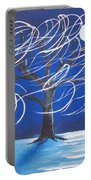 Blue Moon Willow In The Wind Portable Battery Charger