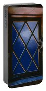 Blue Night Through Casement Portable Battery Charger