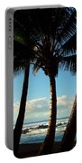 Blue Palms Portable Battery Charger by Karen Wiles