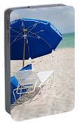 Blue Paradise Umbrella Portable Battery Charger