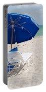 Blue Paradise Umbrella Portable Battery Charger