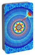 Blue Parrot Mandala Portable Battery Charger