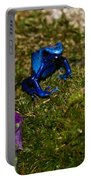 Blue Poison Arrow Frog Portable Battery Charger