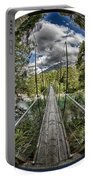 Blue Pools Bridge Portable Battery Charger by Chris Cousins