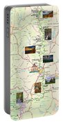 Blue Ridge Parkway In North Carolina Portable Battery Charger