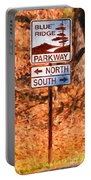 Blue Ridge Parkway Sign Portable Battery Charger