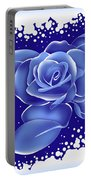 Blue Rose Portable Battery Charger