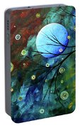Blue Sapphire 1 By Madart Portable Battery Charger