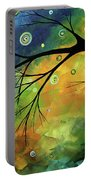 Blue Sapphire 2 By Madart Portable Battery Charger