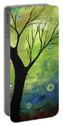 Blue Sapphire 3 By Madart Portable Battery Charger