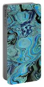 Blue Shimmers Portable Battery Charger