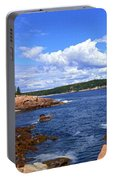 Blue Skies In Maine Portable Battery Charger