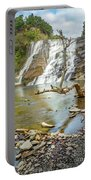Blue Skies Over Ithaca Falls Portable Battery Charger